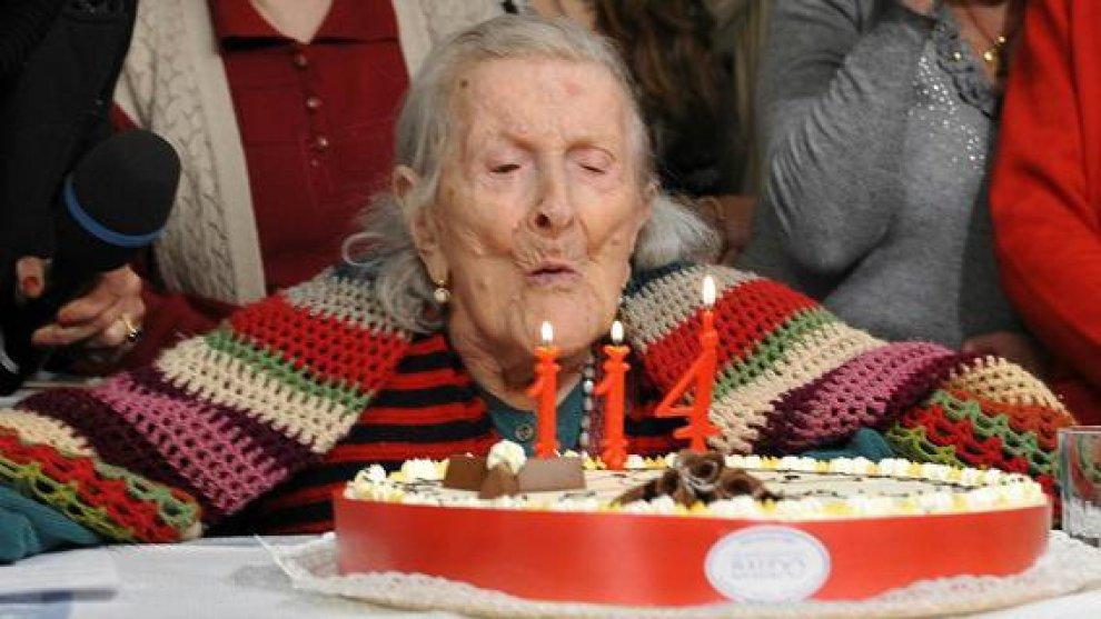 """Emma Morano, 116 anni, """"nonnina d'Europa"""". E anche papa Francesco le fa gli auguri"""