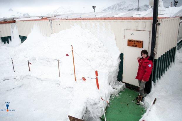 Nicola Linty, i miei giorni nella stazione antartica