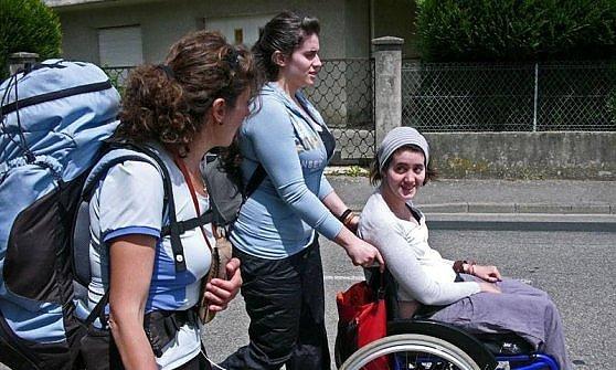 Il cammino di Marcella per aiutare le persone disabili