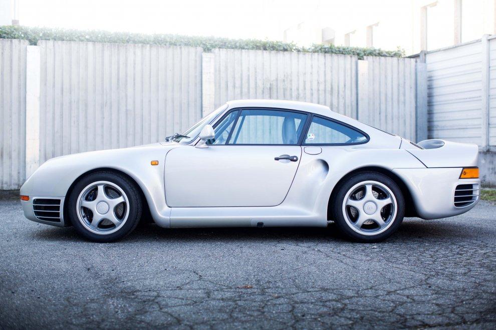 Asta record per la Porsche 959 Komfort 1988