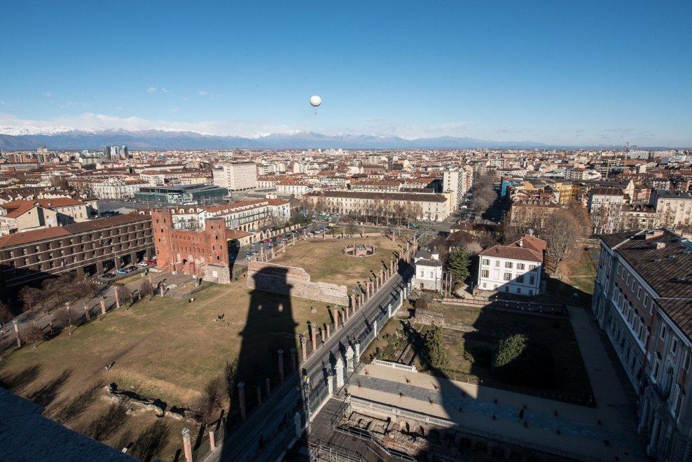 Torino come a primavera: dal campanile del Duomo il panorama è uno spettacolo