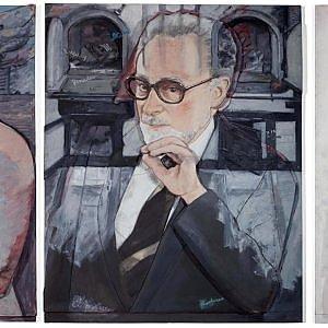Torino, tre ritratti  di Primo Levi  a Palazzo Madama per la Giornata della Memoria