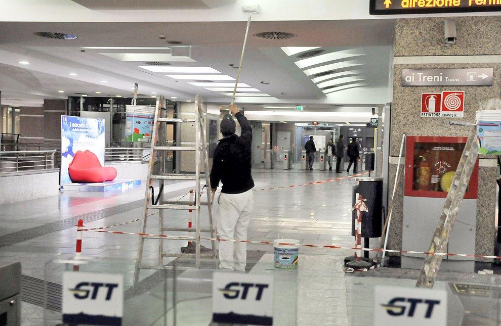 Gtt nuovo look del metr a porta nuova 1 di 1 torino - Uffici gtt porta nuova ...