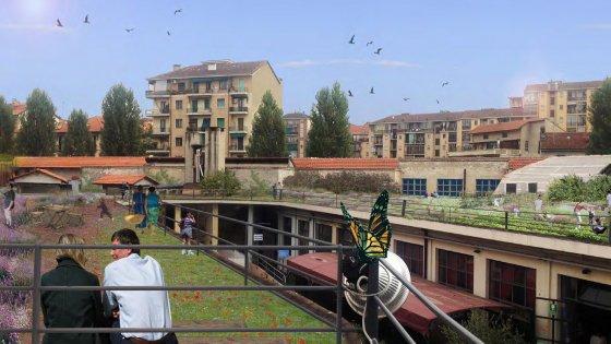 Un orto urbano sui tetti delle fonderie, via ai lavori