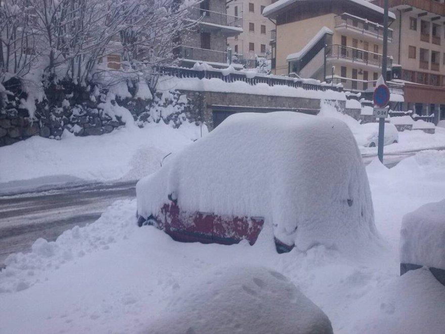 La grande nevicata in Piemonte