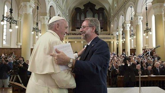 Torino il papa invita a pranzo in vaticano valdesi e metodisti la prima volta - Tavola valdese progetti approvati 2015 ...
