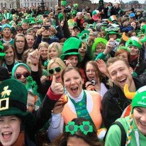 La festa irlandese e quella dell'Oriente, Tutti gli appuntamenti della domenica