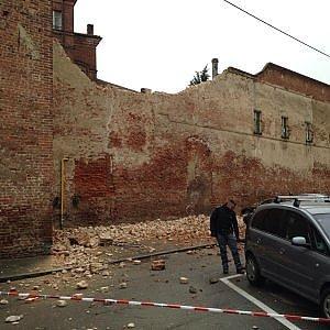 Vercelli, perquisizioni in Comune dopo l crollo di un muro del Tribunale