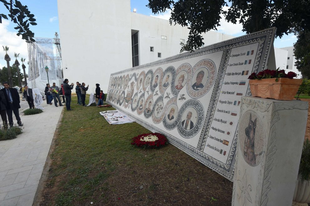 Museo del Bardo, nell'anniversario della strage inaugurati i mosaici con i ritratti delle vittime