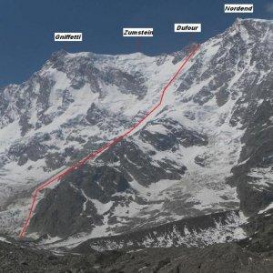 """Sci alpinista """"estremo"""" austriaco scivola e muore sul monte Rosa"""