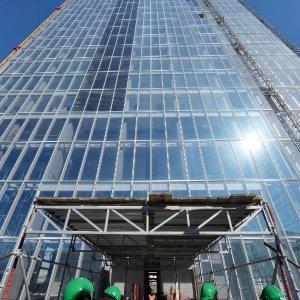 Difettose le finestre del nuovo grattacielo della Regione Piemonte