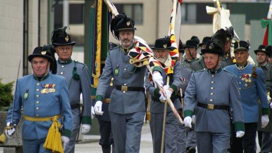 Asti, un secolo dopo la Grande Guerra gli austriaci all'Adunata degli alpini