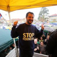 Sit-in di Salvini sotto casa dell'ex ministra Fornero: