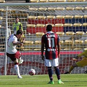 Toro, la vittoria è di rigore a Bologna