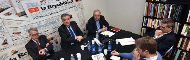 """Forum a Repubblica con i sindacati: """"Per i cantieri della sanità favorite le aziende locali"""""""