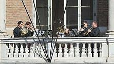 """Un concerto per ottoni dal balcone """"costituzionale"""""""