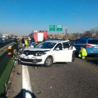 Torino, riaperta alle 12 la tangenziale sud dopo due incidenti: carreggiata