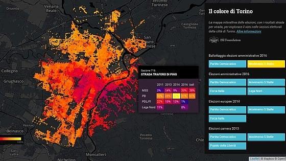 Al Cottolengo 93% a Fassino, al Villaretto 76% a Appendino: così Torino ha votato casa per casa