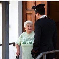 Torino, il tribunale revoca l' obbligo di firma per la nonnina No Tav