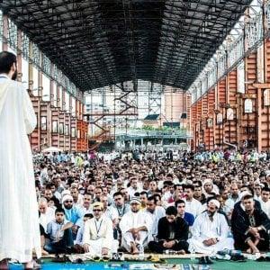 La sindaca di Torino a Parco Dora per la festa di chiusura del Ramadan