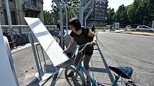 """Le """"assi da stiro"""" sono stalli per biciclette"""