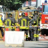Torino, in fiamme sulla tangenziale autocisterna carica di gpl
