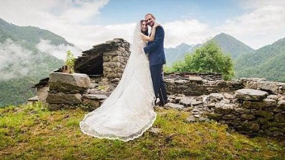 Matrimonio In Comune In Inglese : Da londra alla valsesia un matrimonio dopo anni in una