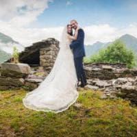 Da Londra alla Valsesia: un matrimonio dopo 90 anni in una frazione sperduta