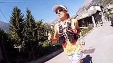 Val d'Aosta, così Canepa si allena per la corsa in quota più dura del mondo