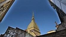 L'estate è bella e asciutta  E Torino riscopre il cielo blu dipinto di blu
