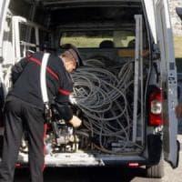 Sansicario, ruba i cavi di rame dall'ex pista olimpica da bob: arrestato