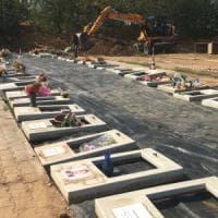Cimitero Parco, il mistero delle tombe scambiate