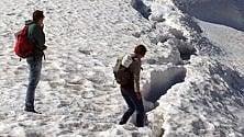 """L'allarme delle guide: """"Troppa gente tra  i crepacci del Bianco  in jeans e camicetta"""""""