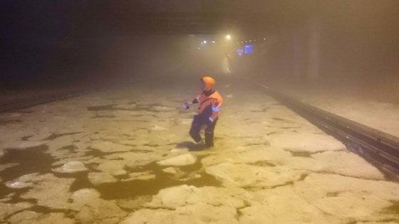 Nubifragio a Torino: 70 mm di pioggia, vento a 80 km/h