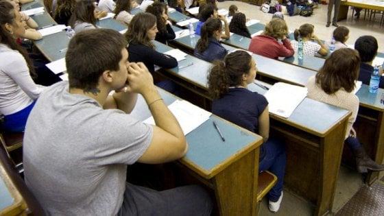 Test per entrare all'università, al via la carica dei 15mila