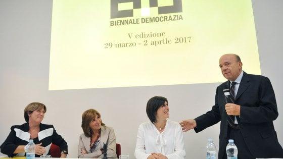 """""""Sarà uscite d'emergenza il tema della Biennale Democrazia 2017"""