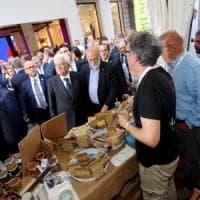 """Salone del Gusto di Torino, Petrini a Mattarella: """"Facciamo un orto al Quirinale"""""""