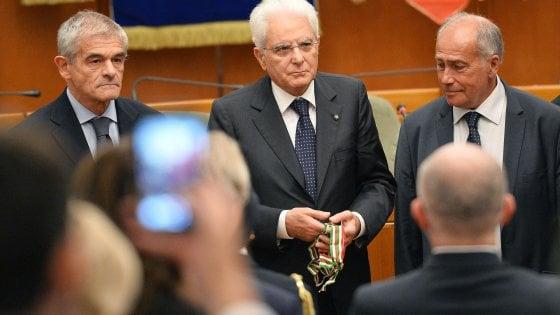 Da Mattarella una medaglia d'oro al Piemonte della Resistenza