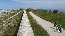 Venezia-Torino, il raid dei pionieri sulla ciclabile che verrà: 700 km lungo il Po
