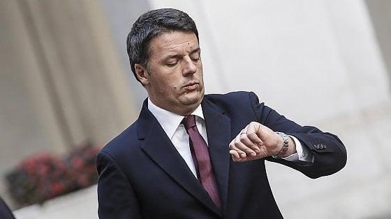 Torino, domani torna Renzi: dal Cottolengo all'industria 4.0