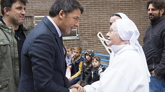 """Renzi: """"Sarà a Torino nel 2017 il prossimo G7 dell'industria"""""""