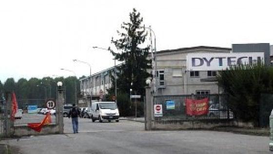 Chiude la Dytech di Airasca 380 dipendenti trasferiti nello stabilimento di Chivasso