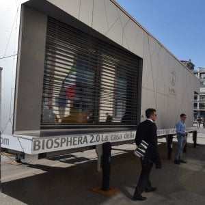 Biosphera, in 25 metri quadrati ecco la casa del futuro a energia zero