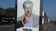 Salvini con i baffi da Hitler in una falsa pubblicità