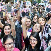 Torino, fan in delirio all'8 Gallery per lo show di Benji e Fede