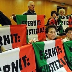 Torino, nuovo processo Eternit per la morte d'amianto di 258 persone