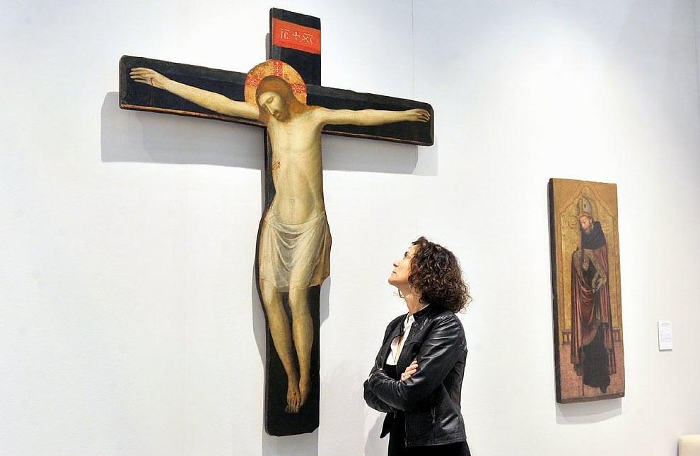 Torino, costa 300mila euro il crocefisso recuperato dai Monuments Men