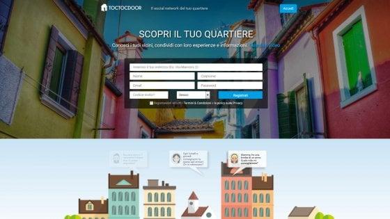 """Torino, via a Toctocdoor: debutta in pieno centro il """"social di vicinato"""""""