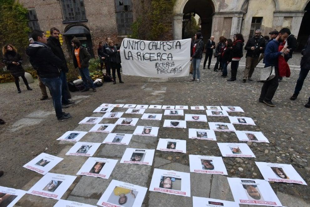 I ricercatori dell'Università di Torino: venite a calpestare i nostri diritti
