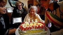 """Verbania, la """"nonnina del mondo"""" Emma Morano spegne 117 candeline"""